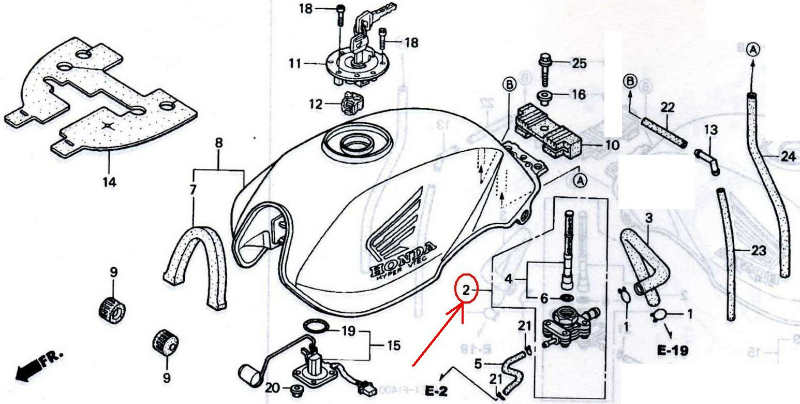 honda cb400 service manual