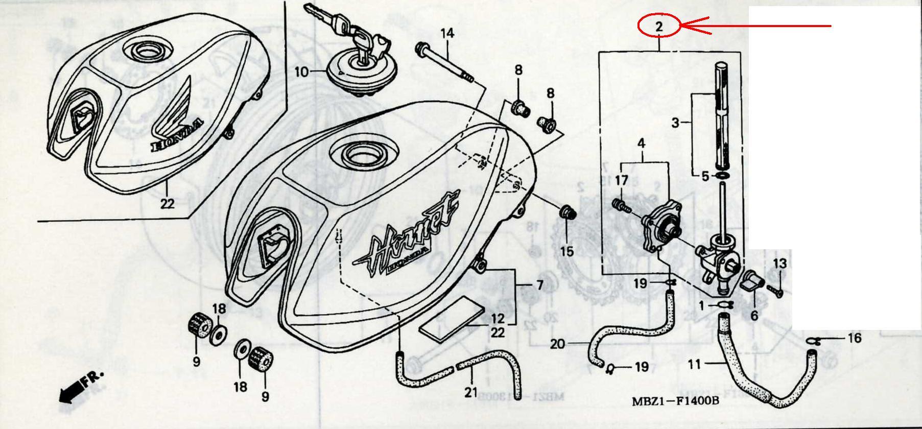 honda hornet 250 service manual